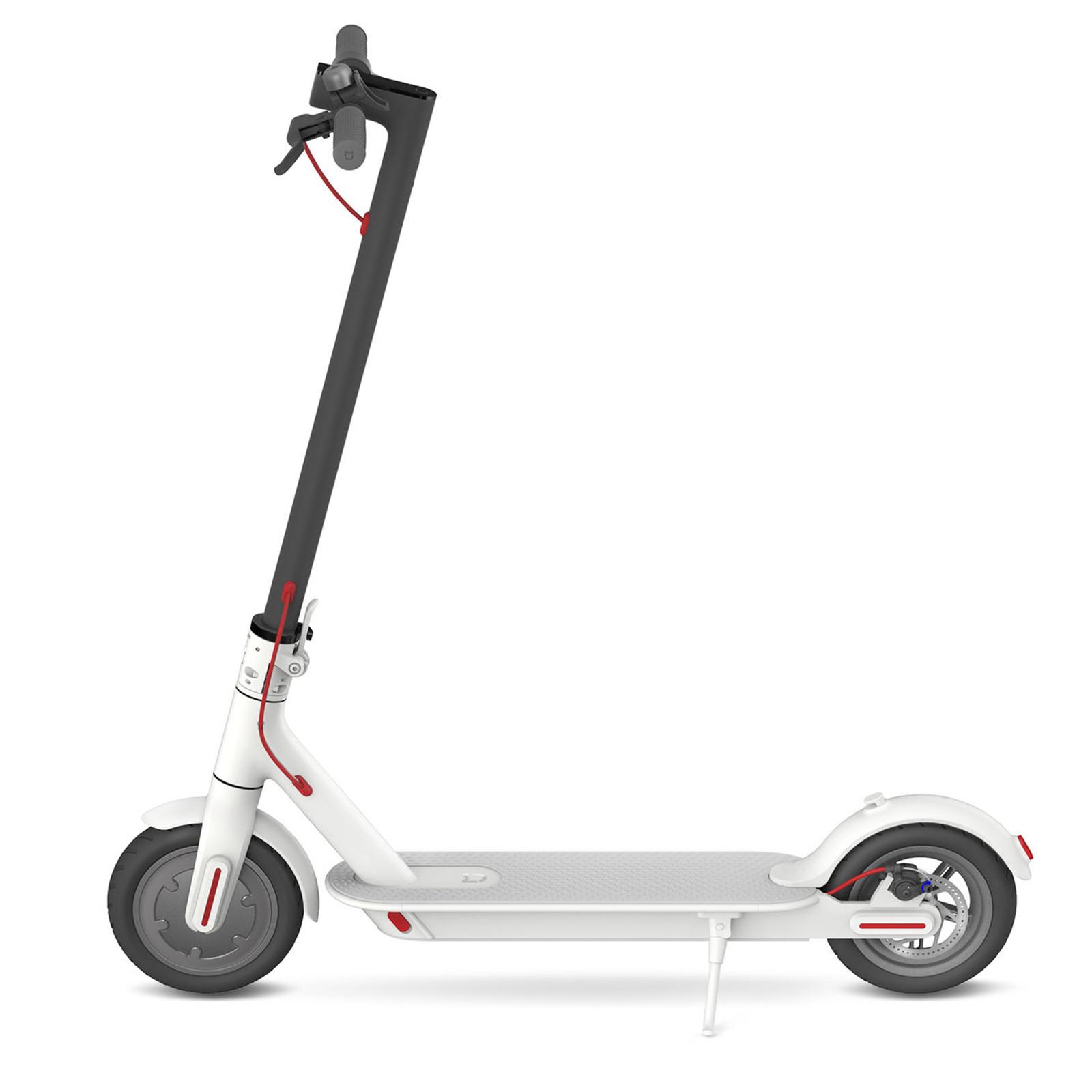 mi home electric scooter white portable folding design. Black Bedroom Furniture Sets. Home Design Ideas