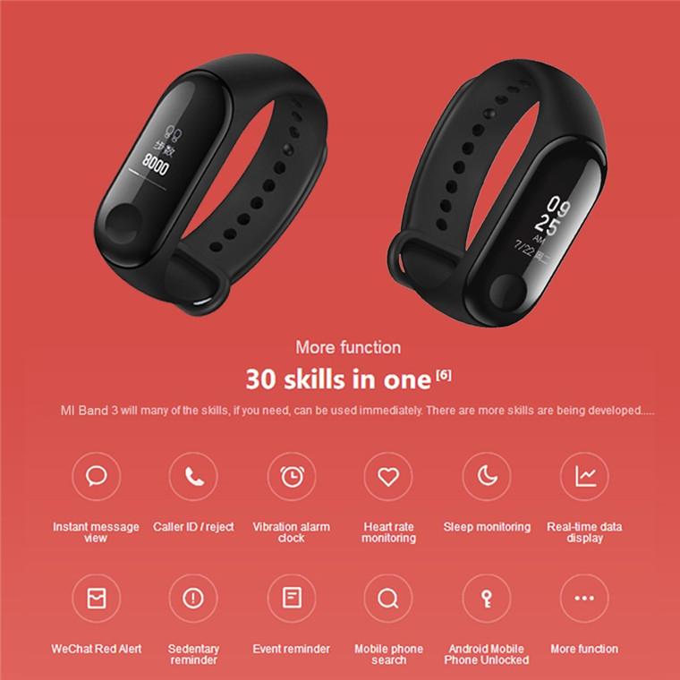 Fitness tracker Mi Band 3 - Mi Store NZ